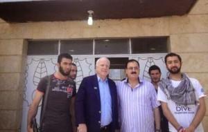 John McCain palin' with ISIS